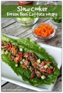 korean bbq lettuce wraps